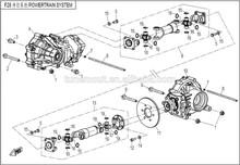 cfmoto 500cc atv şanzıman yedek parçaları