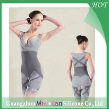 Bamboo fiber slimming body shaper,women underwear body suit