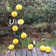 honeycomb lantern / Honeycomb garland / round paper ball Mini Honeycomb Tissue Paper Christmas Ball Garland