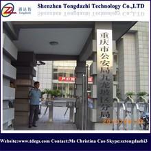 Puerta de enlace organizador colas RF tarjeta de trípode torniquete barrera electrónica