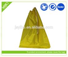 Recycle reusable foldable customized ransel bag shop drawstring tote bag
