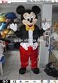 2014 mejor venta de precioso vivo para adultos traje de mickey mouse