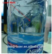 milk bottle laser marking date,serial number on drinks bottle