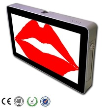 10.2 Inch Wall Mount LCD Touch Screen Portable Video Monitor
