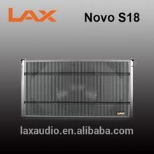 PA mini speaker bass subwoofer speaker box 18inch/sound system for hote