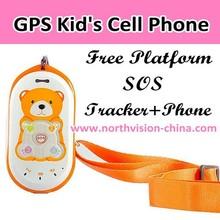Unlocked kids GK301 Low RF children gps phone with voice monitor