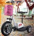 3 tekerlekli elektrikli hareketlilik scooter devre dışı