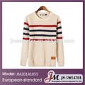 cabo da malha com nervuras guarnições pullover homens camisolas homem marca novo jumpers 2014 inverno moda casual camisa top roupa