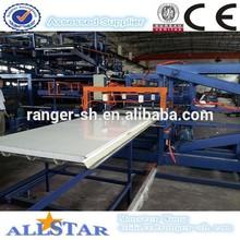Shanghai Allstar eps sandwich panel production line, wall panel roll forming machine