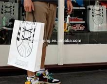 handle length handle shopping paper bag/printed paper bag/promotional paper bag