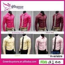 2014 Designer Slim Fit Shirts Office Formal Design Mens Shirt