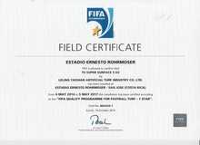 Synthetic Grass FIFA 1 star turf price list synthetic grass price quotation