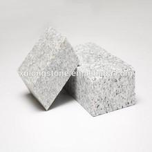 G603 sawn sliver grey granite stone for paving stone in sawn granite