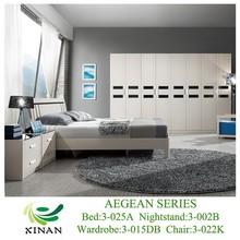 Modern White Oak Furniture Sets Bedroom Wardrobes,MDF/PB