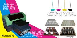 uv flatbed printer digital print on leather mimaki ujf-3042 uv led desktop printer