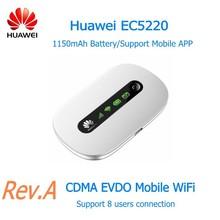Huawei EC5220 Rev.A Mobile wifi with SIM CDMA EVDO WiFi Router