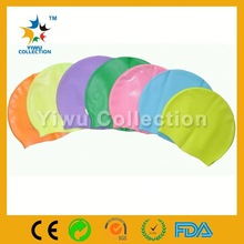 sun protection silicone design your own swim cap for kids,printable waterproof fish shape swim cap UN-0604