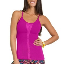 Fitness gym/yoga stringer singlet plain y back stringer tank top