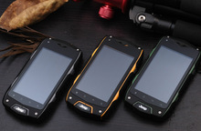 Cheapest 4inch Rugged water proof cellphone with 3G and GPS rugged phone