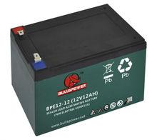 battery three wheel bike electric bike battery pack 36v 12ah tubular battery BPE12-12