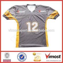 Ottenere la vostra squadra personalizzata nome e numero di football americano maglia/abbigliamento sportivo