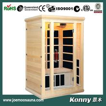 2014 KL-2LFV new luxury wood good far infrared sauna room