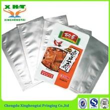 china supplier accept custom printed aluminum foil bag vacuum retort pouch