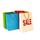 promotional gift shopping paper bag logo
