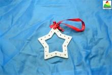 Cerâmica bisque enfeites de natal