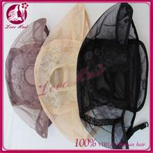 Adjustable wig cap silk base U part wig cap