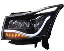 2014 fashion hot sale plug and play 12v headlights for Chevrolet cruze 2011 headlight china supplier