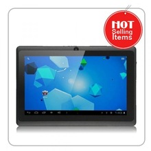 "Black Friday!!! 7"" Q88 Dual & Single Core Tablet with OTG, Wifi, External 3G w 512MB+4GB Flash Android Cheap Laptop Tablet"