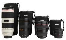 Neoprene Lens Soft Camera Pouch/Case dslr camera bag Size: S M L XL