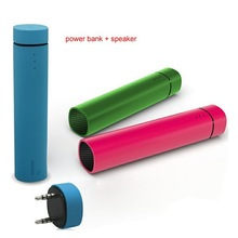 Hot selling power bank and mini speaker with bluetooth for outdoor / camping /riding