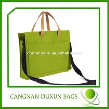 Hottest sale wholesale felt bags