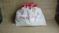 2014 polular Cotton Muslin Drawstring Bag,Custom Shoe Dust Bag,Drawstring Bag Dust Bags