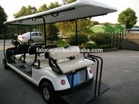 Electric Street Legal Golf Cart 8 passenger motor vehicle golf buggy