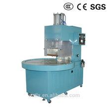10KW high frequency hot melt glue machine plastic welding embossing machine