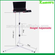 Height Adjustable Laptop Floor Stand
