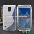 휴대 전화 커버 메이커의 라인 tpu 전화 뒷면 케이스 삼성 s5/ g900