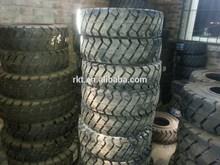 bias forklift tyre 5.00-8 solid industrial tyre