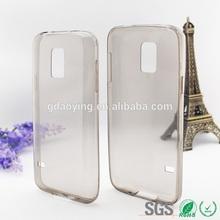 0.65mm super slim tpu case Waterproof tpu cell case for Samsung S5 MINI G800