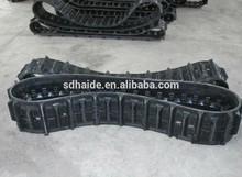 320x100x43,small excavator PC15-1 mini rubber crawler 320x100x43