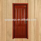 New products house design decorative interior composite doors with wood veneer