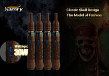 2014 Original Kamry new invent kamry legend 5 e cig Skull, Eagle (Wood Carving)