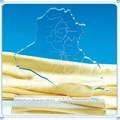 شكل مخصص للهدايا التذكارية الزجاج الكريستال الخريطة