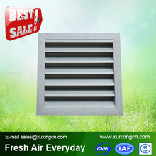 2015 hot sale aluminum waterproof air conditioner fresh air grille