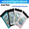 2015 Wholesale Phone Waterproof Case,PVC Waterproof Bag,mobile phone Waterproof bag