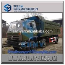 6*2 dump truck, dongfeng dump unloader,180HP dump vehicle