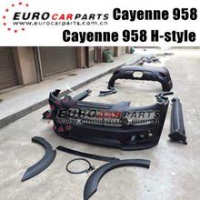 Cayene 958 Hamaan body kits fit for Por Cayene 958 style 2011 up